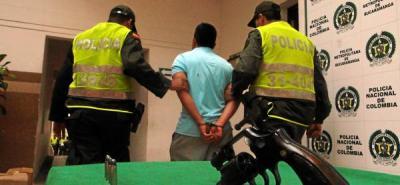 Policía capturó a un hombre con porte ilegal que tenía detención domiciliaria