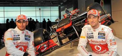 McLaren presenta el MP4-27 de Hamilton y Button para la nueva temporada