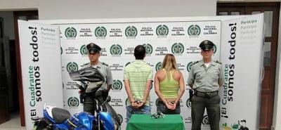 Arrestada una pareja de atracadores en el barrio El Prado