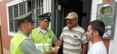 Patrulleros de la Policía devuelven 700 mil pesos en el Socorro