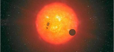"""""""Usamos el Hubble para medir el color infrarrojo del atardecer en ese mundo"""", explicó Berta."""