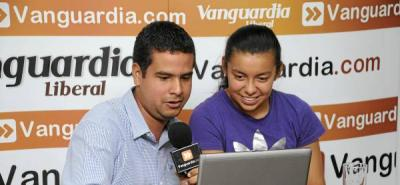 Yoreli Rincón les contó a los usuarios de Vanguardia.com que jugará fútbol profesional en Brasil