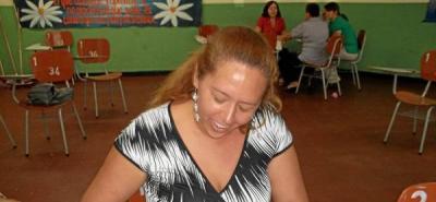 Gloria Anaya Silva era docente desde hace 8 años en un colegio de Piedecuesta.