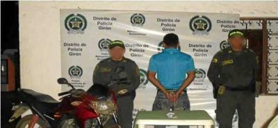 Policía capturó en flagrancia a dos expendedores de alucinógenos