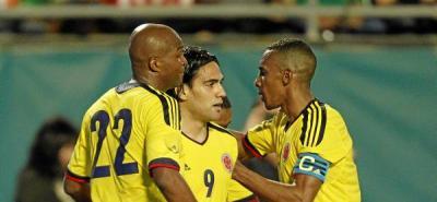 Falcao y Cuadrado le dieron el triunfo a Colombia en el debut de Pékerman