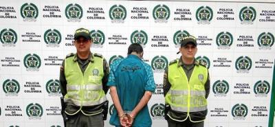 La Policía capturó presunto guerrillero del Epl en Girón