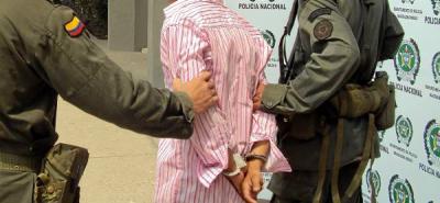Capturan en Bogotá a narcotraficante pedido en extradición