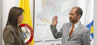 Nuevo vicefiscal, José Ricardo González
