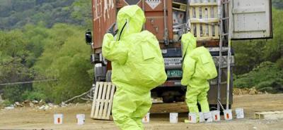Bomberos controlaron dispersión de químicos en la zona industrial