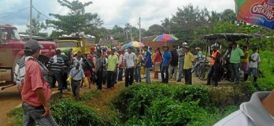 Comunidad de San Pablo se queja por falta de agua potable