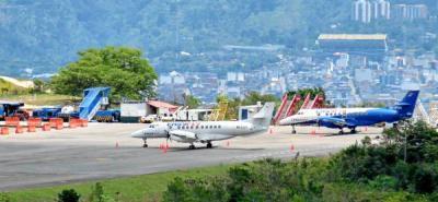 Por mal clima se retrasan operaciones desde y hacia el aeropuerto Palonegro