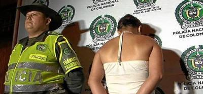 Capturada mujer que intentó robar un camión en Bucaramanga