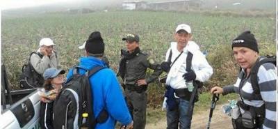 Ubican y rescatan a los 22 turistas  desaparecidos