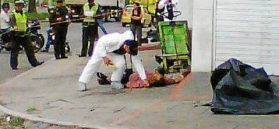 Sicarios asesinaron a un hombre, de ocho disparos