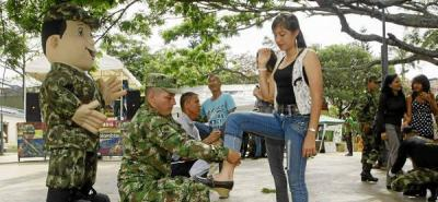 Los bumangueses también se 'remangaron' sus pantalones