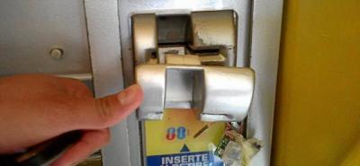 Incautados implementos para clonar tarjetas en cajeros en Barbosa