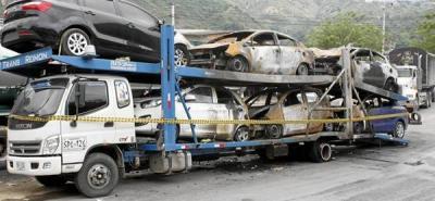 Pérdidas por $300 millones tras voraz incendio de seis vehículos