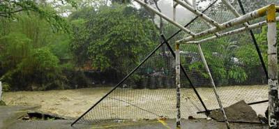 El Río Suratá pone en riesgo de inundación al barrio Villa Helena