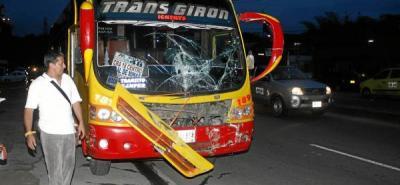 Destreza de conductor evitó tragedia en la Ciudadela Real de Minas