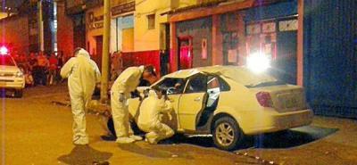 Hombre fue sicariado dentro de su vehículo en Bucaramanga