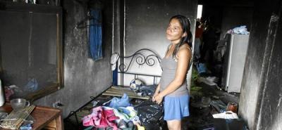 Hombre murió quemado dentro de su propia casa