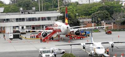 Aeropuerto Palonegro reanudó operaciones