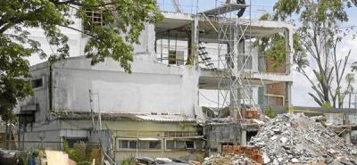 Caos en Hospital por retrasos en las obras de remodelación