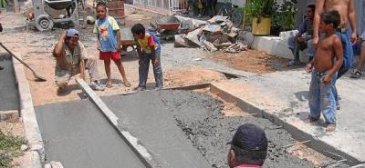 23 barrios están en la lista de espera de Autopavimentación