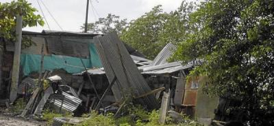 Aguacero causó estragos en 19 barrios de Barrancabermeja