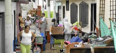 Aguacero de dos horas dejó 19 barrios afectados en Barrancabermeja