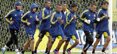 La Selección Colombia sigue adelante en sus microciclos