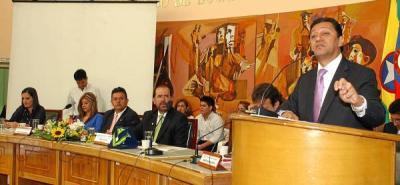 Alcalde de Bucaramanga presentó el Plan de Desarrollo al Concejo