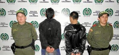 Capturados tres hombres dedicados a robar taxistas en Bucaramanga