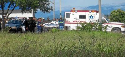 Seis policías resultaron heridos en La Gabarra