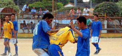 Cuadrangulares semifinales de infarto en La Floresta