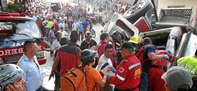 Otra persona murió tras el trágico accidente en San Gil