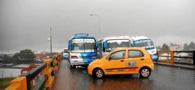 Transporte público entró a paro en Barrancabermeja