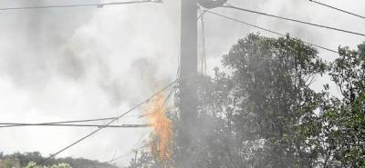Conato de incendio generó alarma en bodegas aledañas a Cenfer