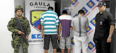Capturan banda presuntamente dedicada al sicariato en Bucaramanga