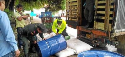 Capturado hombre con sustancias para el procesamiento de narcóticos