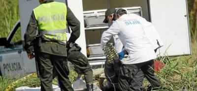 Policías encuentran hombre muerto en la 'Curva del Diablo'