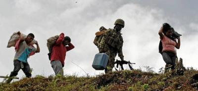 Comunidad indígena retuvo a militares que hirieron a dos de sus integrantes