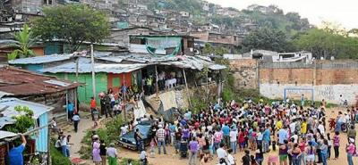 241 familias desalojarán el asentamiento Punta Betín