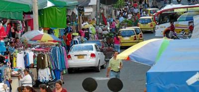 Avanzan operativos para recuperar el espacio público en el Centro de Bucaramanga