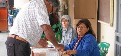 Definen puntos de votación para las consultas internas