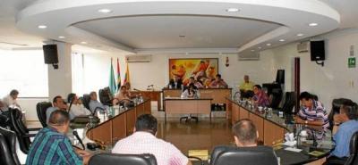 Concejo comenzó su último periodo de ordinarias de 2012