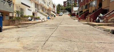 Cañaveral Plaza pide arreglos de la vía