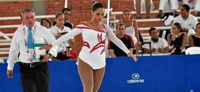 Daniela Restrepo ganó el primer oro en los Juegos Nacionales