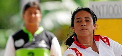 La santandereana Ivonne Esparza logró el cuarto metal dorado para el departamento en las justas deportivas.