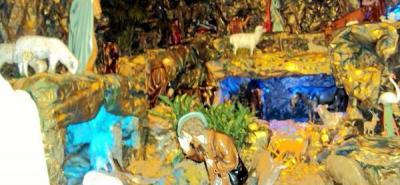 Exponen pesebre en San Juan Nepomuceno
